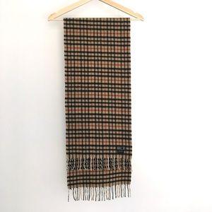 🍂 Daks Cashmere Scarf, Made in Scotland 🍂